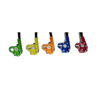 CNC gefertigte Klappraste in verschiedene Farben