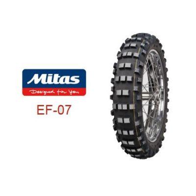 Mitas EF07 Enduro FIM Hinterreifen 140/80-18 / gelb