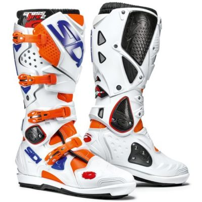 SIDI Crossfire 2 SRS weiss/neon orange