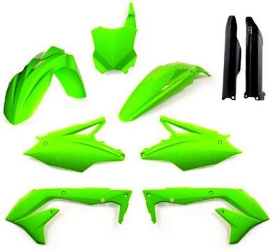 Acerbis Full Kit Plastiksatz Kawasaki KXF 450 16-17- neongr&uuml