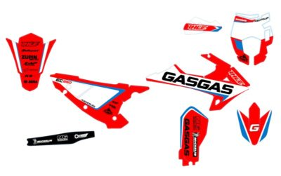 GAS GAS EC 250 300 2018-2020 Graphics Kit blue/red