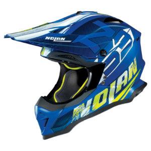 Nolan N53 Helm – Whoop Flat blue `18