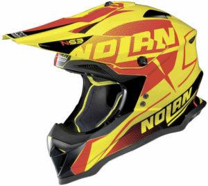 Nolan N53 Helm – Sidewinder Led Yellow – M