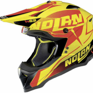 Nolan N53 Helm – Sidewinder Led Yellow `18