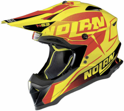 Nolan N53 Helm – Sidewinder Led Yellow – M
