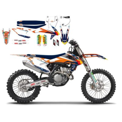 BLACKBIRD Graphics Kit REPLICA KTM TROPHY 16-18