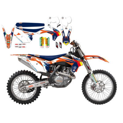 BLACKBIRD Graphics Kit REPLICA KTM TROPHY 13-15