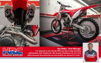 YOSHIMURA Signature RS-9T SO SLIP ON CRF 250/18
