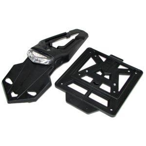 Kennzeichenhalter LED, INTEGRA Racing schwarz (60°)