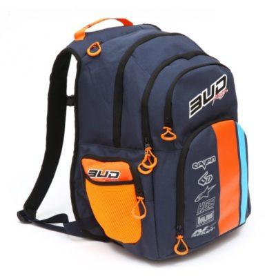 BUD Racing Rucksack Multifunctional Navy/Orange
