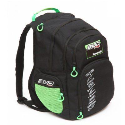 BUD Racing Rucksack Multifunctional schwarz/grün
