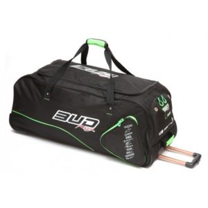 BUD Racing Reisetasche Roller-Bag schwarz/grün