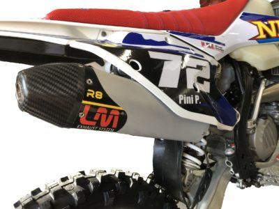 LM Schalldämpfer KTM EXC Husqvarna TE 250/300 17-19 (Enduroversion)