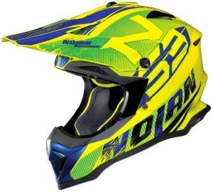 Nolan N53 Helm – Whoop Green/Yellow – L oder S