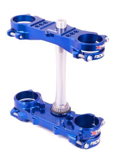 Xtrig ROCS Tech Gabelbrücke Yamaha YZF 250 12-20 / 450 10-15 sowie 18-20 blau