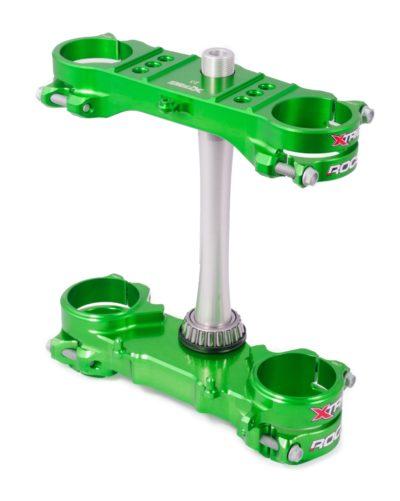 Xtrig ROCS Tech Gabelbrücke Kawasaki KXF 250 13- / KXF 450 13-18 / grün