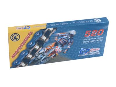 CZ 520 Motocross Kette 118 Glieder, Zugfestigkeit 35000 N, Gewicht 1,78 Kg