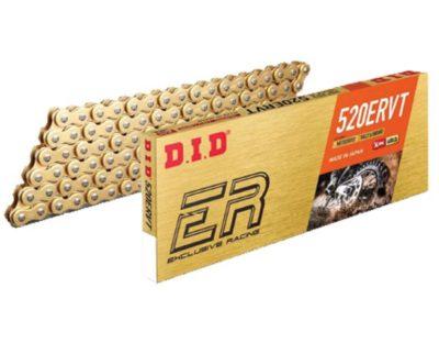 DID 520 ERVT Kette (118G) gold/black, Zugfestigkeit 3820kg