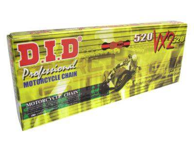 DID 520 VX2 Kette (102G) gold/black, Zugfestigkeit 3720kg