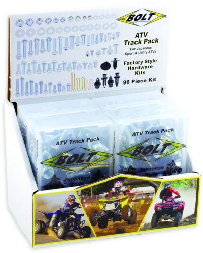 BOLT Track Pack ATV Schraubenkit 4-tlg m. Display