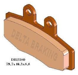 DELTA BRAKING Bremsbeläge KTM MX 125 250 350 88-93 / KTM LC4 89-93 / Maico