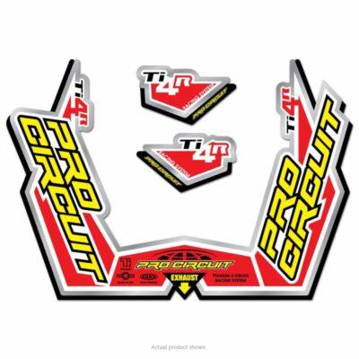 Pro Circuit Auspuffsticker Ti-4R