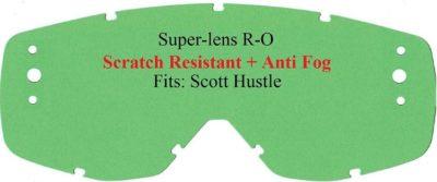 Polywel E-Glas Scott Hustle R-OFF (3Loch) kratzf. klar