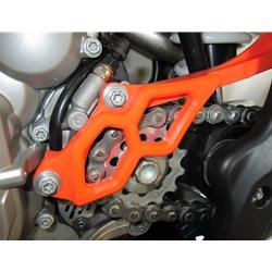 TMD Ritzelabdeckung/Nehmerzylinderschutz KTM EXC-F 250 350 17-19 Orange