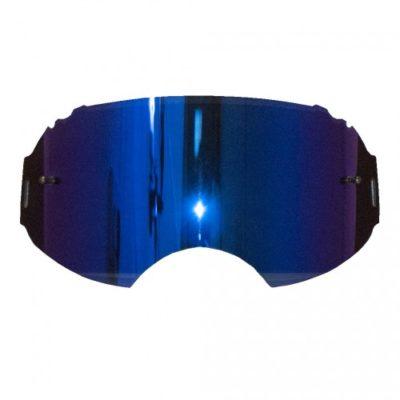 Rip N Roll Ersatzglas Oakley AIRBRAKE MX Blau verspiegelt