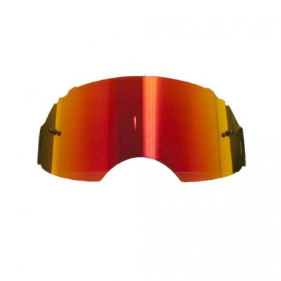 Rip N Roll Ersatzglas Oakley AIRBRAKE MX Rot verspiegelt