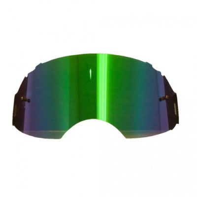 Rip N Roll Ersatzglas Oakley AIRBRAKE MX Grün verspiegelt