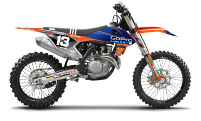 N-STYLE Troy Lee Design KTM SX 85  13-17