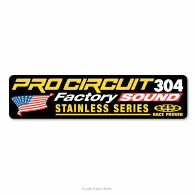 Pro Circuit Auspuffsticker 2T 304