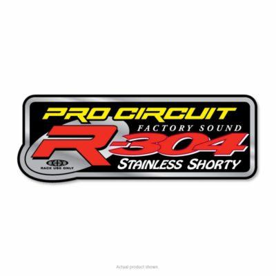 Pro Circuit Auspuffsticker 2T R-304