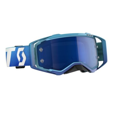 SCOTT Prospect 2020 blue/white / electric blue chrome works