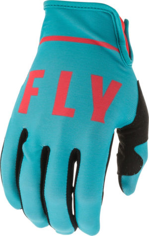 Fly Racing Glove Lite blue-coral