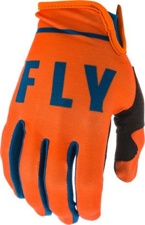 Fly Racing Glove Lite orange-navy