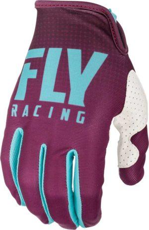 Fly Racing Glove Lite seafoam-port-white