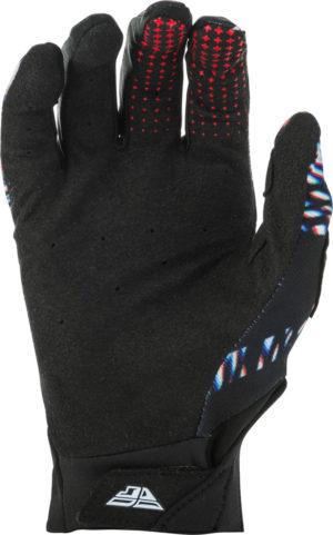 Fly Racing Glove Pro Lite Glitch black-red-blue