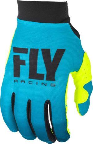 Fly Racing Glove Pro Lite Lady blue-hi-vis