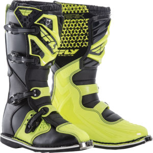 Fly Racing Boots Maverik black-neon