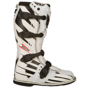 Fly Racing Boots Maverik white-black