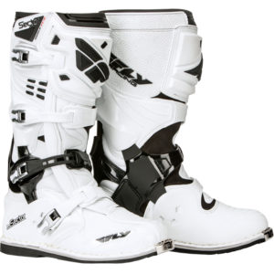 Fly Racing Boot Sector white