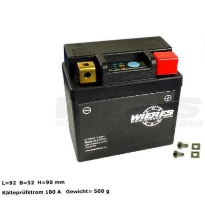 Batterie 12V 24Wh Lithium Ionen – wartungsfrei KTM SXF 250 350 450 16- / Honda CRF