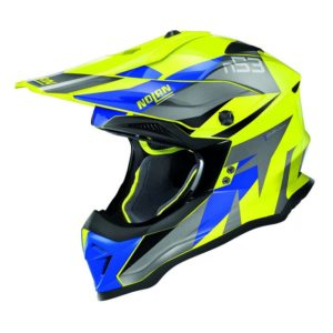 Nolan N53 Helm – Portland Blue/Yellow