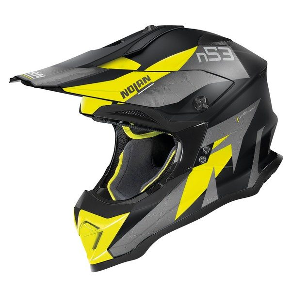Nolan N53 Helm – Portland Black/Yellow