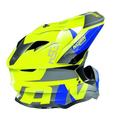Nolan N53 Helm – Portland Blue/Yellow