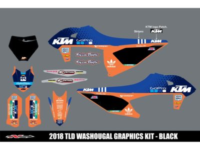 N-STYLE TLD KTM Team KIT Orange  SX-F 19-