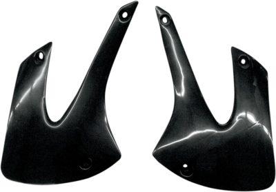 UFO Kühlerspoiler KAWASAKI KX85 01-13 BLACK