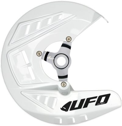 UFO Bremsscheibenschutz HONDA CRF250/450R WHITE